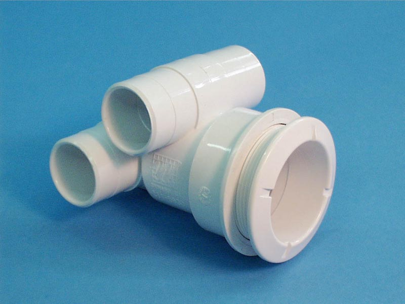 210-5830 - Jet Body Assy,WATERW,Poly,1 Inch S Air x 1 Inch S Water(Stacked)White - 210-5830
