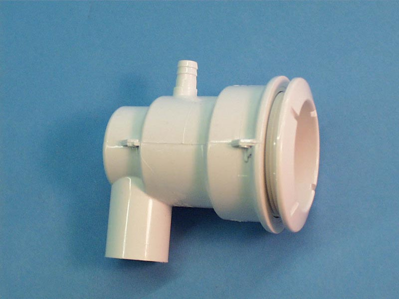 210-5910 - Jet Body Assy,WATERW,Poly,3/8 Inch B Air x 3/4 Inch S Water,Ell,White - 210-5910