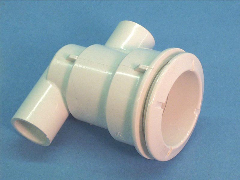 210-5960 - Jet Body Assy,WATERW,Poly,1/2 Inch S-1 Inch Spg Air X 3/4 Inch S Water,Ell - 210-5960