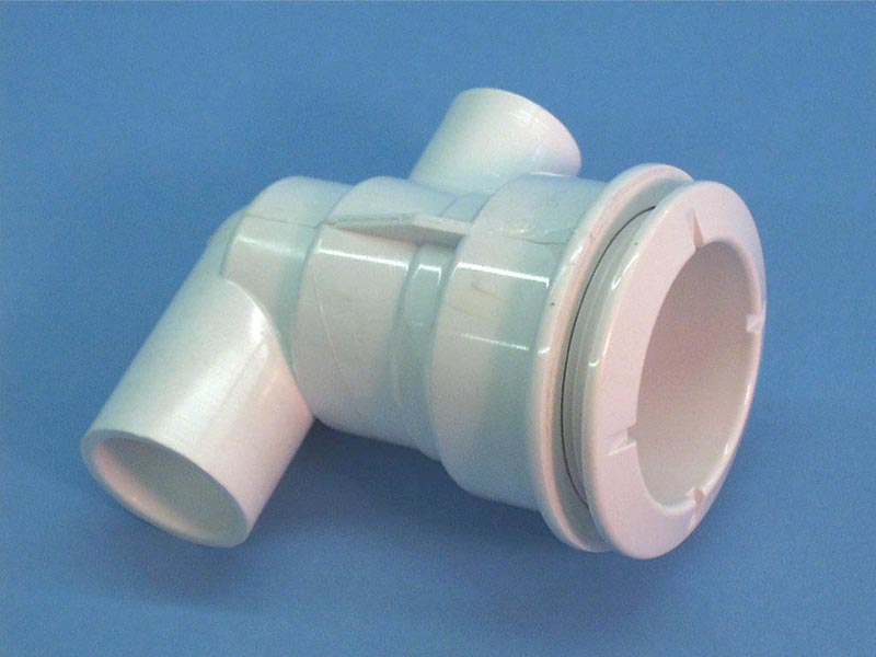 210-5970 - Jet Body Assy,WATERW,Poly,1/2 Inch S-1 Inch Spg Air x 1 Inch S Water,Ell - 210-5970