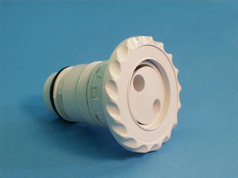 210-6070 - Jet Internal,WATERW,Deluxe Adj Poly,Pulsator,3-1/2 Inch Face,Wht - 210-6070