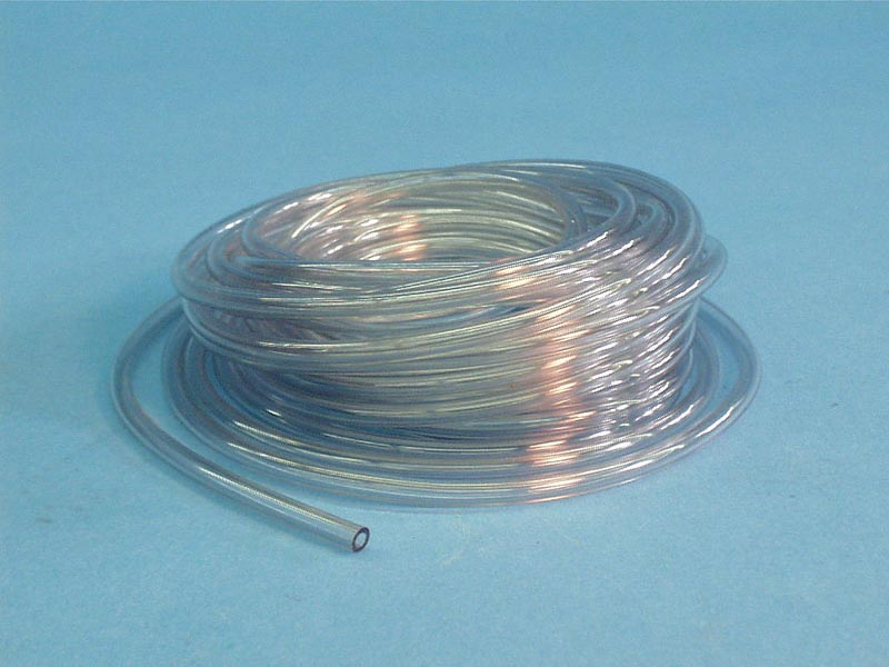 25TUBING - Tubing,Clear Vinyl,1/8 Inch ID,Air Button 25' Roll - 25TUBING