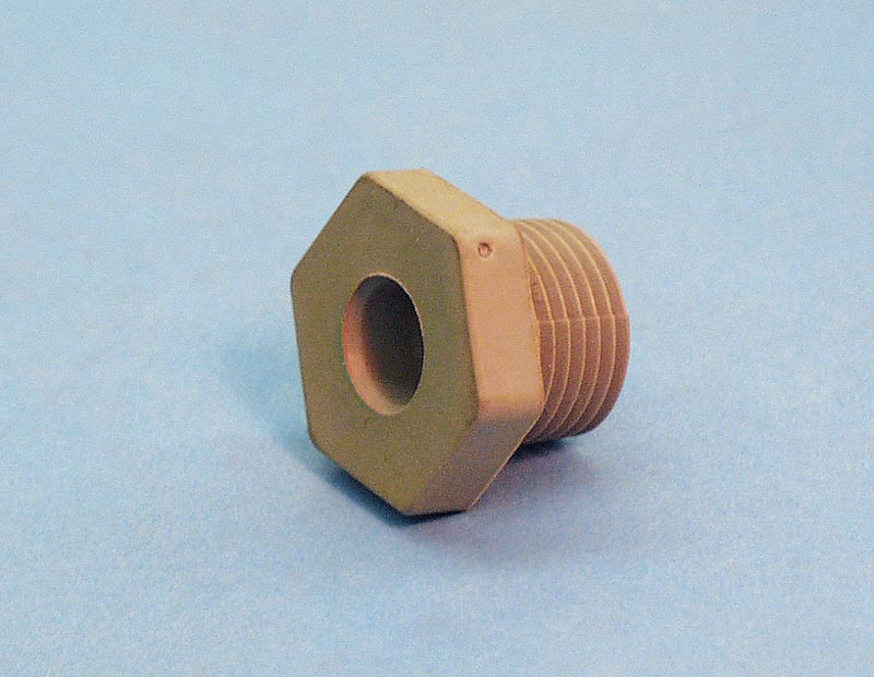 30-220 - Thermowell Compression Nut,Rubber,THERMR,7/16 Inch Bulb,1/2 Inch MPT - 30-220