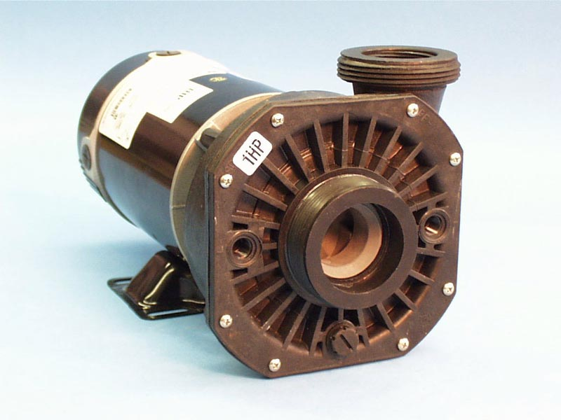 300-3000SD - Pump Assy,Waterway Hi-Flo, 48Y Frame, Side Discharge, 1HP, 1 Speed,115V,12Amp, 2 Inch MBT in/ 2 Inch MBT (1-1/2 Inch FPT) Out, No Unions, No Cord - 300-3000SD