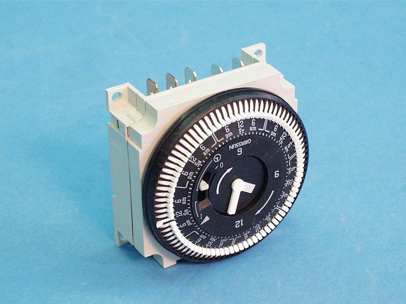 34-0056 - Time Clock,GRASSLIN,7 Day,120V,w/Manual Override - 34-0056