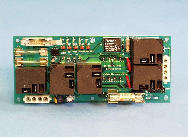 34-5021 - PCB,BRETT,BL-45,Relay Board(5 Relays) - 34-5021