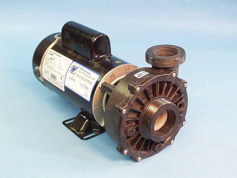 3421221-10 - Pump Assy,WATERW,Hi-Flo,48YFr,SD,3HP,2Spd,230V,8.5/2.8Amp, - 3421221-10