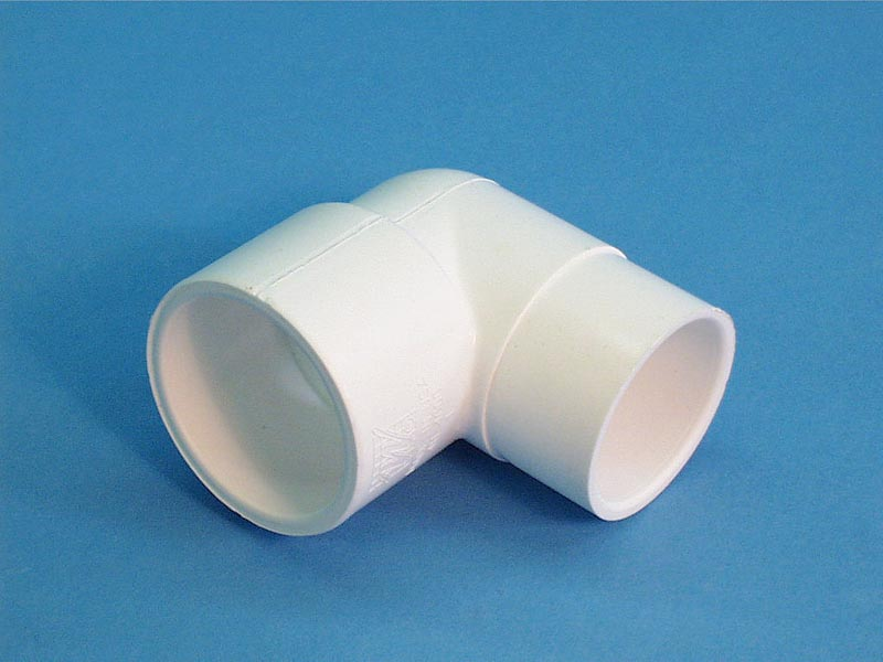 411-4000 - Fittings PVC,90 Degree Street Ell,WATERW,1-1/2 Inch Sx1-1/2 Inch Spg - 411-4000