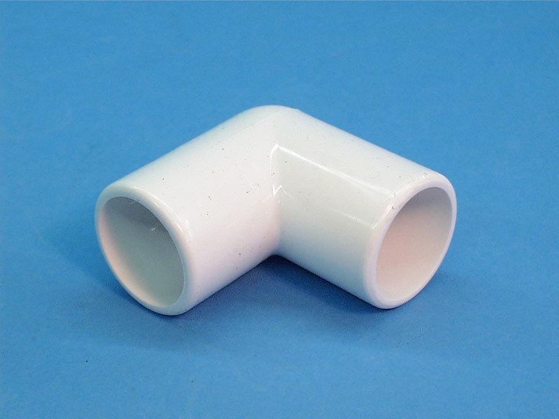 411-5550 - Fittings PVC,90 Degree Spigot Ell,WATERW,1-1/2 Inch Spgx1-1/2 Inch Spg - 411-5550