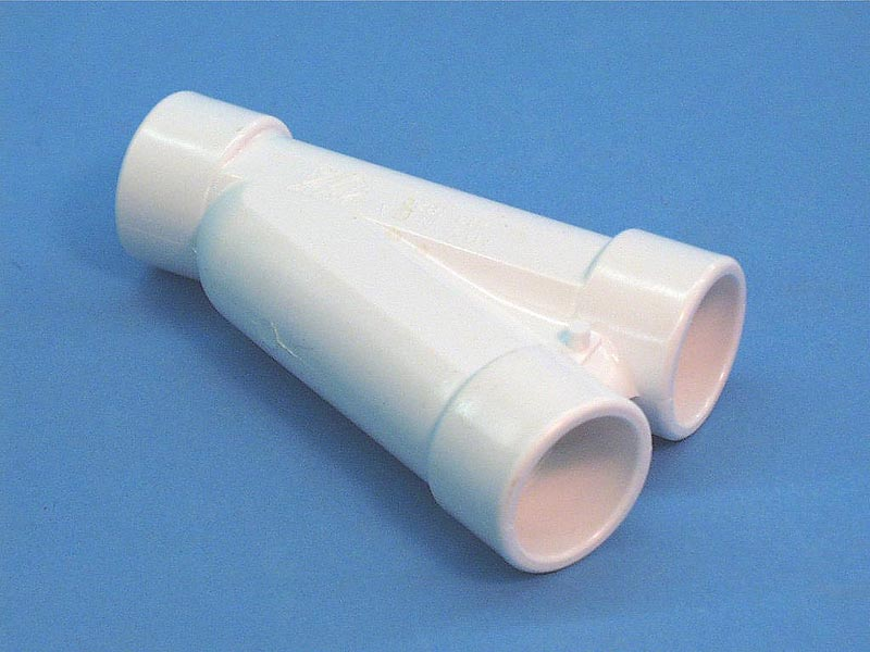 413-1820 - Fittings PVC,22.5 Degree Wye,WATERW,3/4 Inch S x 3/4 Inch S x 3/4 Inch S - 413-1820