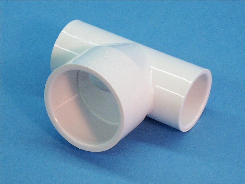 413-2030 - Fittings PVC,Tee,WATERW,1 Inch S x 1 Inch S x 1-1/2 Inch S - 413-2030