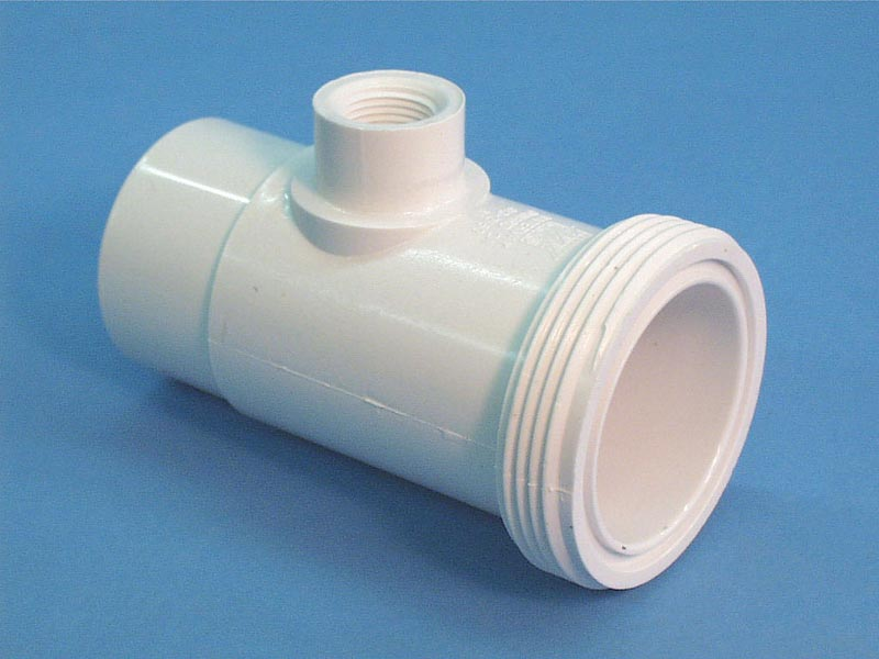 413-2160 - Fittings PVC,Flow Switch Tee,WATERW,2 Inch MBT x 2 Inch Spg x 1/2 Inch FPT - 413-2160