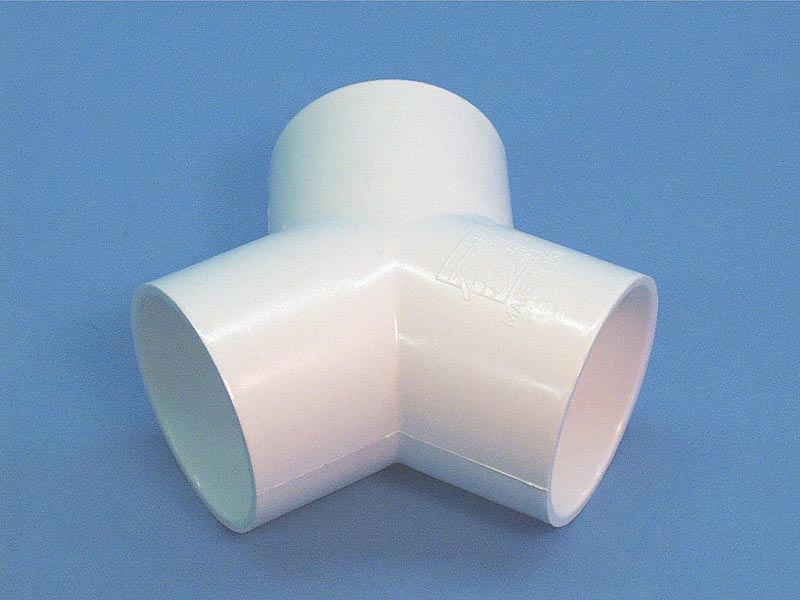 413-5080 - Fittings PVC,120 Degree Wye,WATERW,2 Inch S x 2 Inch S x 2 Inch S - 413-5080