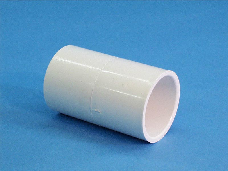 419-4000 - Fittings PVC,Coupling,WATERW,1-1/2 Inch S x 1-1/2 Inch S - 419-4000