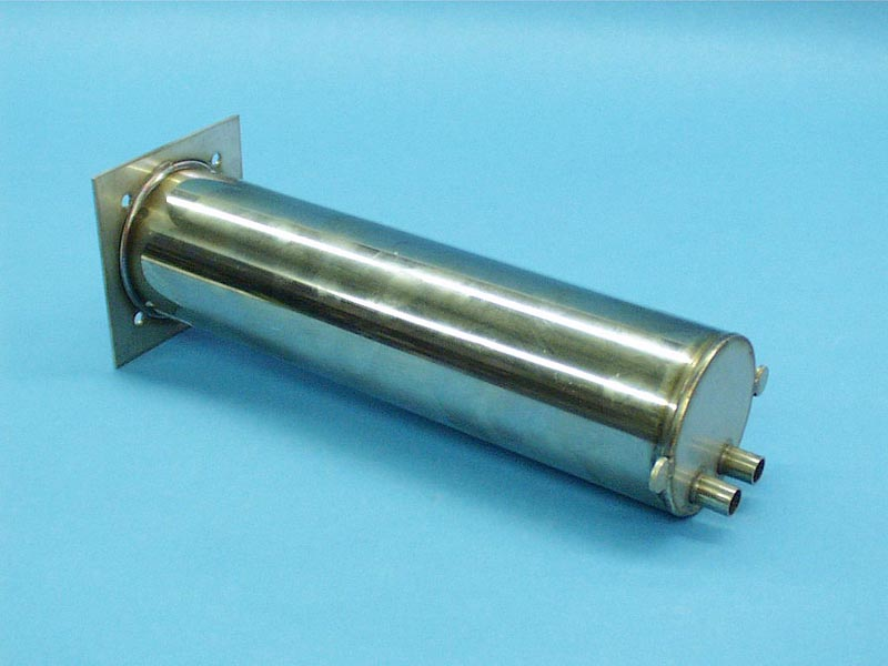 42-1000 - Heater Manifold(Hot Springs)SS,4 Inch x 4 Inch Sq Flange,11.63 Inch Long - 42-1000