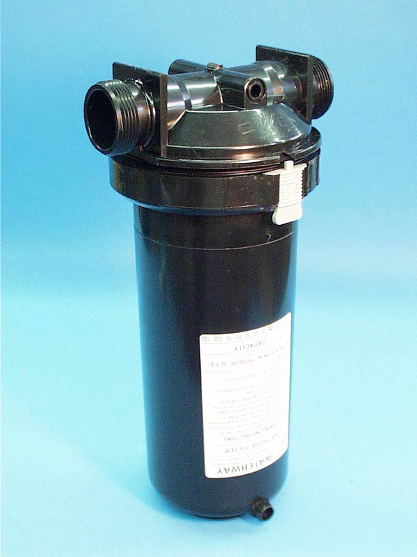 500-2570 - Filter Assy,WATERW,In Line,25 Sq Ft,1.5 Inch MBT,w/By-Pass Valve - 500-2570
