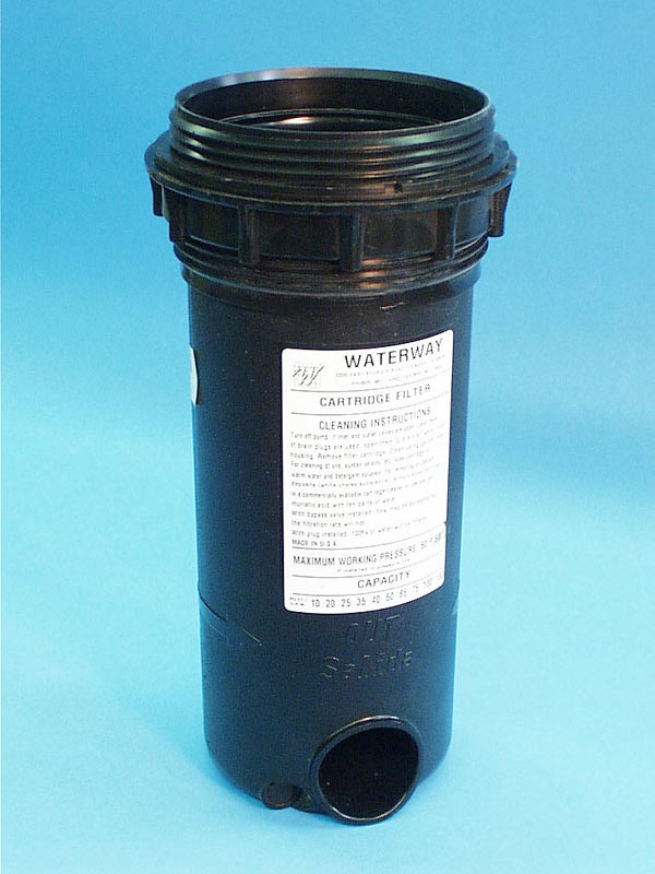 550-5060 - Filter Body w/Plug,2 Inch ,WATERW,1 Inch &2 Inch Top Load Filters - 550-5060
