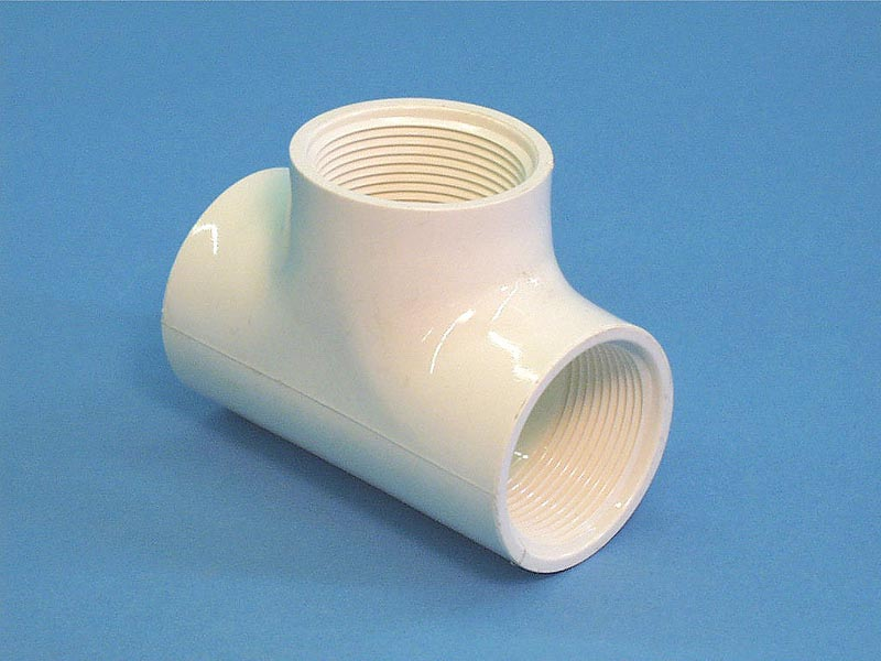 60-1012 - Fittings PVC,Tee,HUGHES,1-1/2 Inch FPT - 60-1012