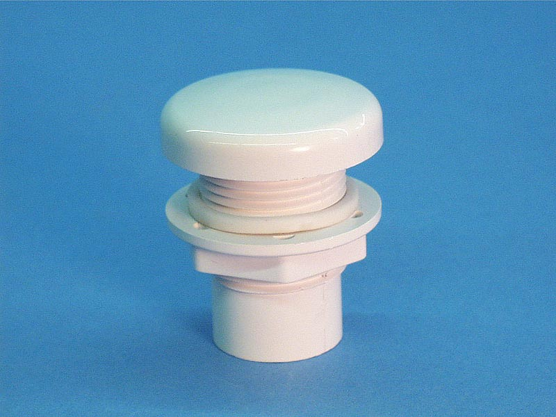 660-3210 - Air Control,WATERW,Strt Nut Smooth Cap,1/2 Inch P,1-5/16 Inch H,Wht - OBS - SUB WITH PART 660-3100 - 660-3210