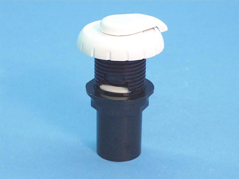 660-3570 - Air Control,WATERW,Top Accss Notched,1 Inch Plmbng,1-5/8 Inch Hole,Wht - 660-3570