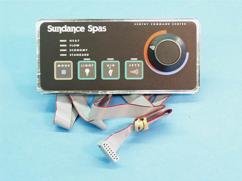 6600-493 - Spa Side Cntrl,SUNDANCE,400 Analog,4'Cbl,14 Pin Ribbon Plug - 6600-493