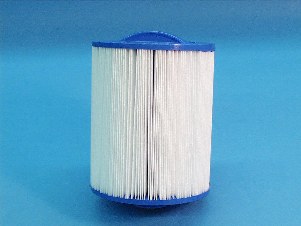 6CH-26 - Filter Cartridge,UNICEL,25 Sq Ft,6 Inch OD x 7-1/8 Inch Long - 6CH-26 - Height: 7-1/8 - Diameter: 6 - TopID: Handle - BottomID: 1-1/2 MPT