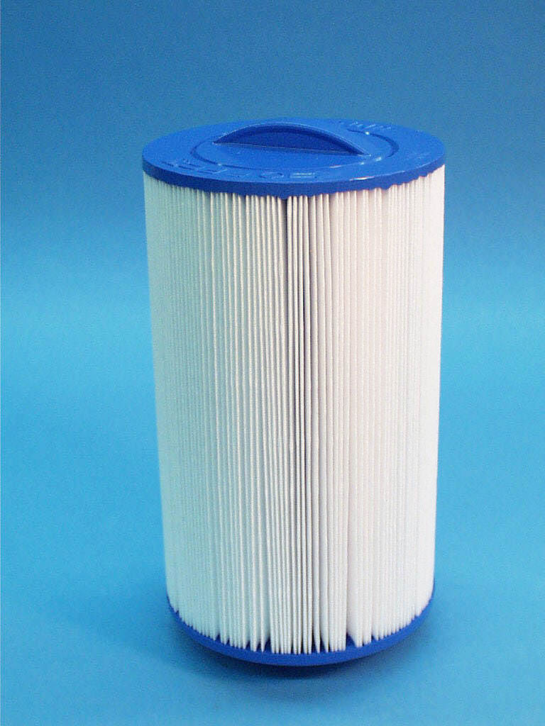6CH-35 - Filter Cartridge,UNICEL,35 Sq Ft,6 Inch OD x 9-7/8 Inch Long - 6CH-35 - Height: 9-7/8 - Diameter: 6 - TopID: Handle - BottomID: 1-1/2 MPT