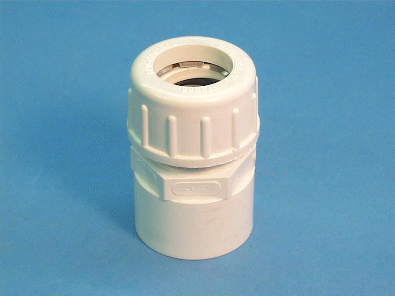 935-125 - Union Complete,FLOCON,1-1/4 Inch Copper To 1-1/2 Inch PVC Adaptr - 935-125