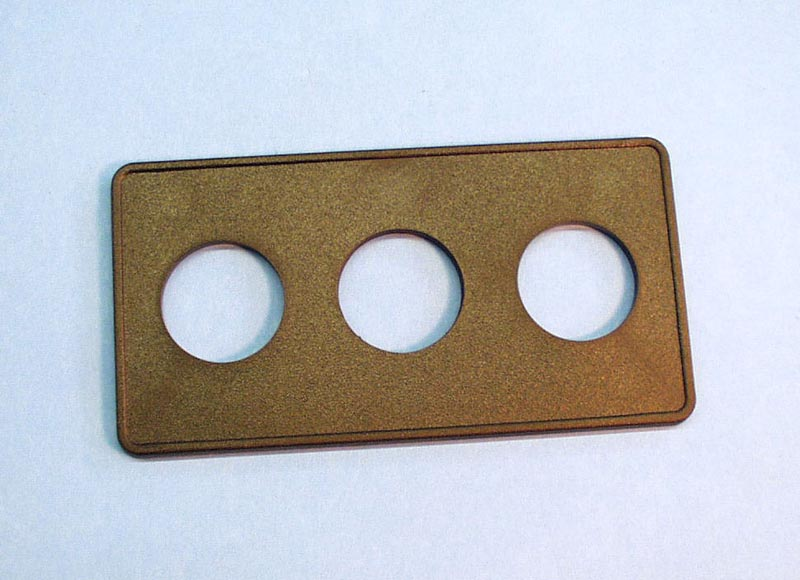 951523-000 - Air Button Plate,LEN_GO,3 Button,6-1/2 Inch x 3-3/8 Inch - 951523-000
