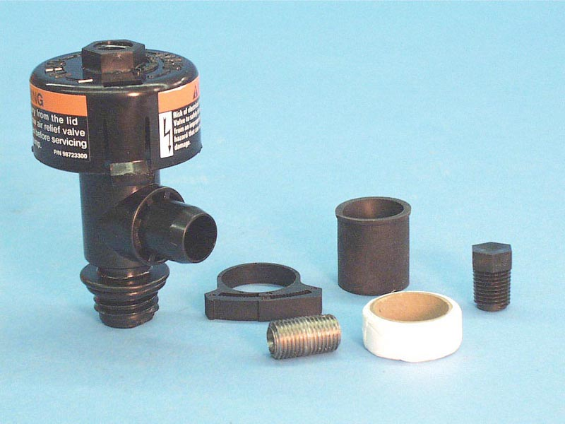 98209801 - Filter Air Relief Valve,AMERIC,Commander Filter,1/4 Inch Petcock - 98209801