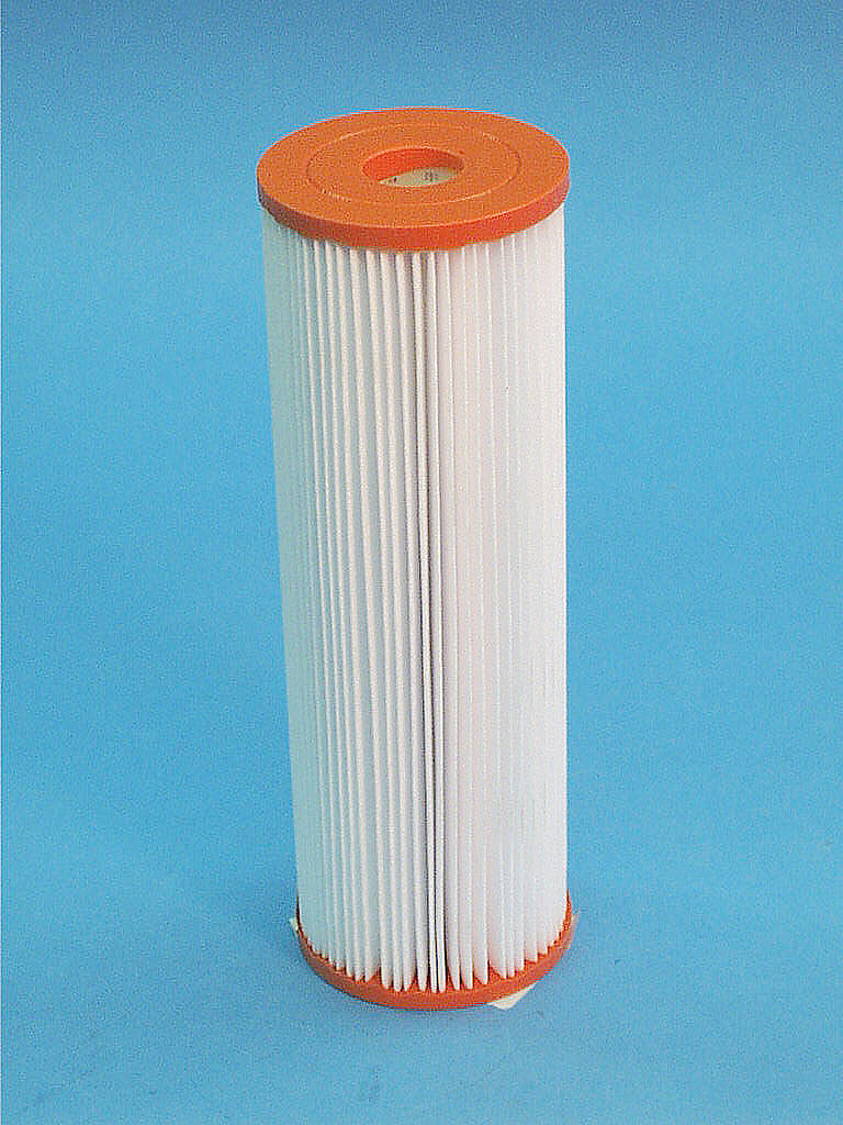 C-3608 - Filter Cartridge,UNICEL,8 Sq Ft,3-1/4 Inch OD x 9-3/4 Inch Long - C-3608 - Height: 9-3/4 - Diameter: 3-1/4 - TopID: 1-1/16 - BottomID: 1-1/16