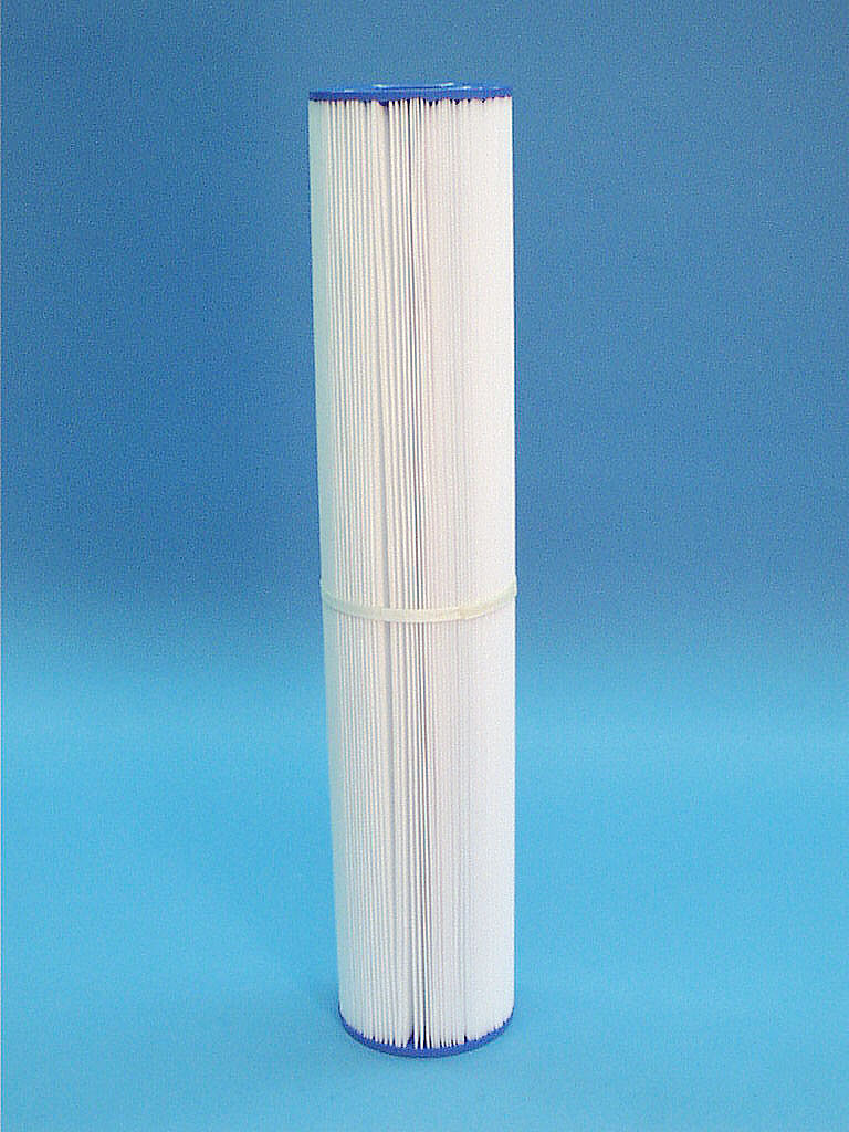 C-4350 - Filter Cartridge,UNICEL,50 Sq Ft,4-5/8 Inch OD x 23-3/4 Inch Long - C-4350 - Height: 23-3/4 - Diameter: 4-5/8 - TopID: 2-1/16 - BottomID: 2-1/16