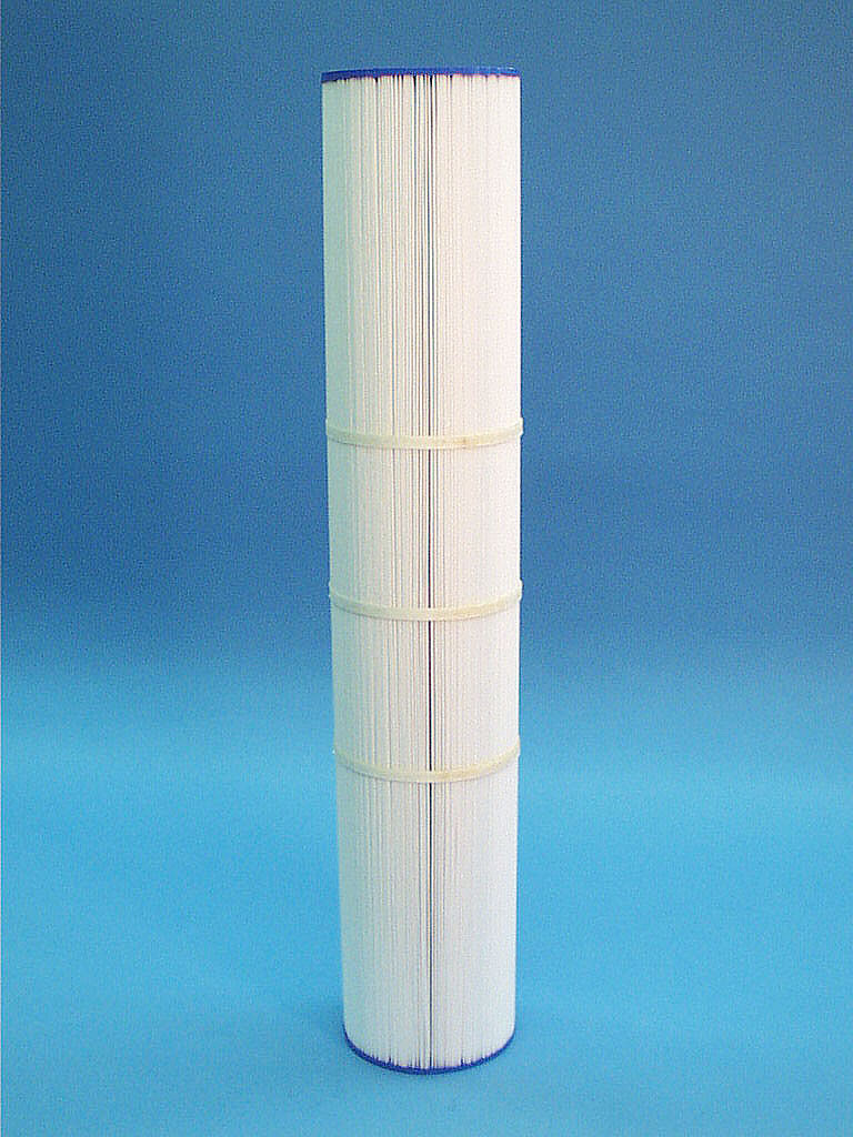 C-4999 - Filter Cartridge,UNICEL,100 Sq Ft,4-15/16 Inch OD x 26-11/16 Inch Long - C-4999 - Height: 26-11/16 - Diameter: 4-15/16 - TopID: 2-1/8 - BottomID: 2-1/8