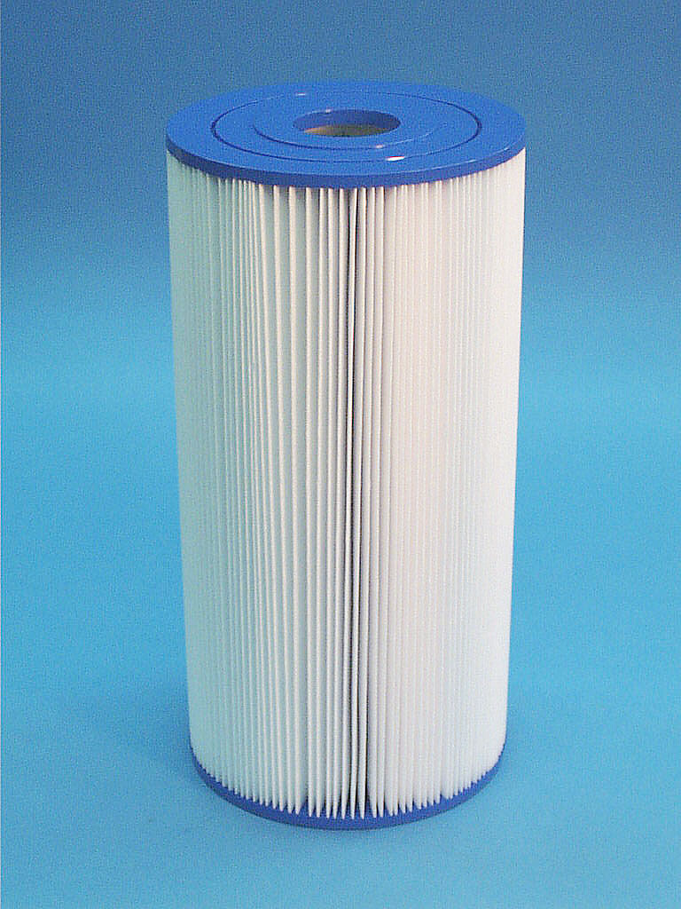 C-6445 - Filter Cartridge, UNICEL,45 Sq Ft,6-7/8 Inch OD x 13-3/4 Inch Long - C-6445 - Height: 13-3/4 - Diameter: 6-7/8 - TopID: 2 - BottomID: 2
