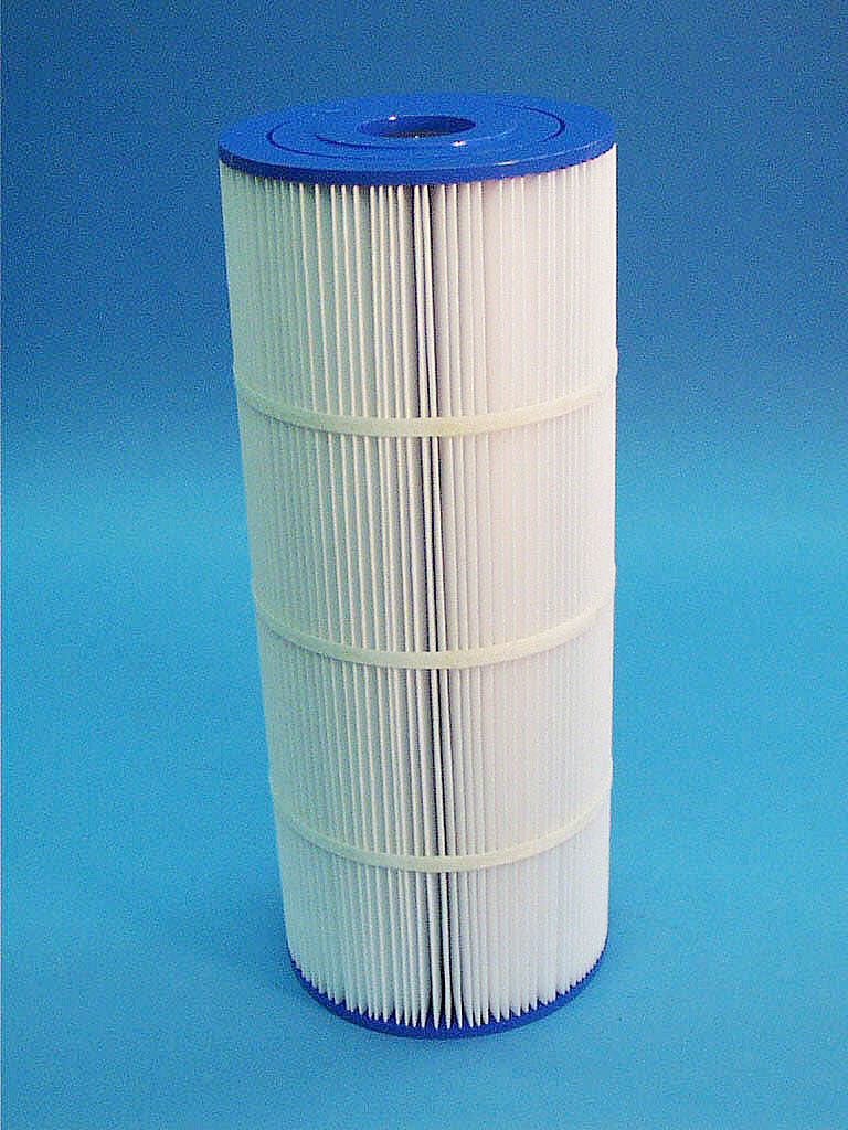 C-6645 - Filter Cartridge, UNICEL, Gerico, 45 Sq Ft, 6-15/16 Inch x17-5/8 Inch - C-6645 - Height: 17-5/8 - Diameter: 6-15/16 - TopID: 2-1/16 - BottomID: 2-1/16