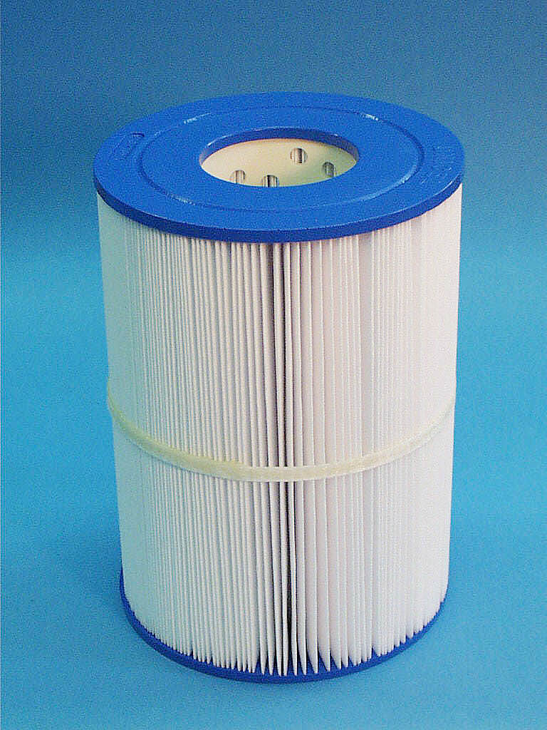 C-7435 - Filter Cartridge,UNICEL,35 Sq Ft,7 Inch OD x 9-13/16 Inch Long - C-7435 - Height: 9-13/16 - Diameter: 7 - TopID: 3 - BottomID: 3