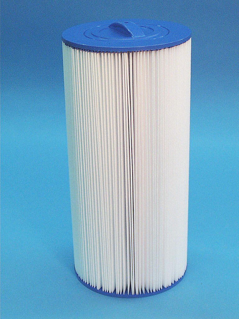 C-7641 - Filter Cartridge,UNICEL,40 Sq Ft,7 Inch OD x 14-3/4 Inch Long - C-7641 - Height: 14-3/4 - Diameter: 7 - TopID: Handle - BottomID: 3