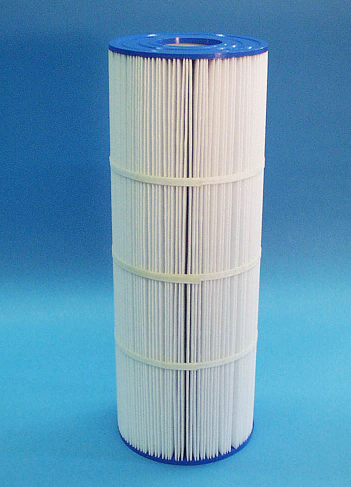 C-7651 - Filter Cartridge,UNICEL,50 Sq Ft,7 Inch OD x 19-5/8 Inch Long - C-7651 - Height: 19-5/8 - Diameter: 7 - TopID: 2-15/16 - BottomID: 2-15/16