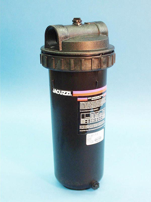 CFR-25S - Filter Assy,JACUZZ,CFR,25 Sq Ft,1-1/2 Inch S,18 Inch Tall x 8 Inch OD @ Lid - CFR-25S