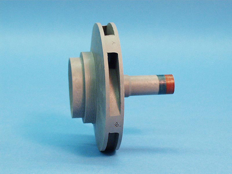 PPUL15IMP - Pump Impeller,VICO,Ultima,1.5HP(Red/Green)4.172 Inch OD,.325 Inch Vane - PPUL15IMP