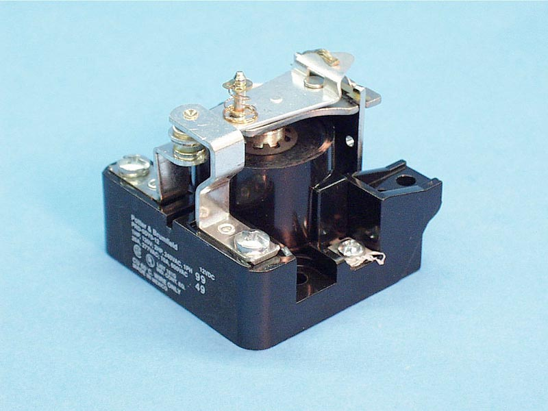 PRD5DYO-12 - Contactor,P&B,12Vdc Coil,25Amp,SP - PRD5DYO-12