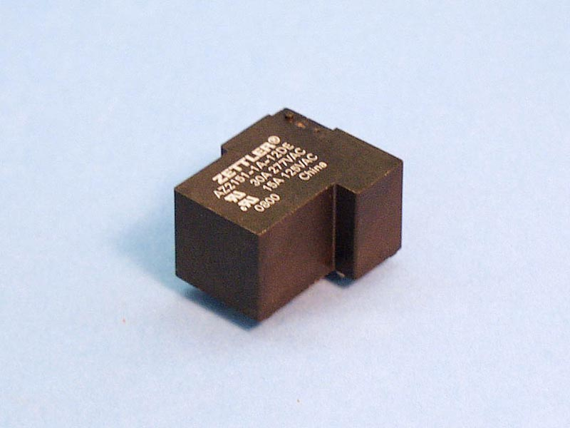 T90-12 - Relay,T90 Style,12Vdc Coil,20Amp,SPNO,PCB Mount - T90-12