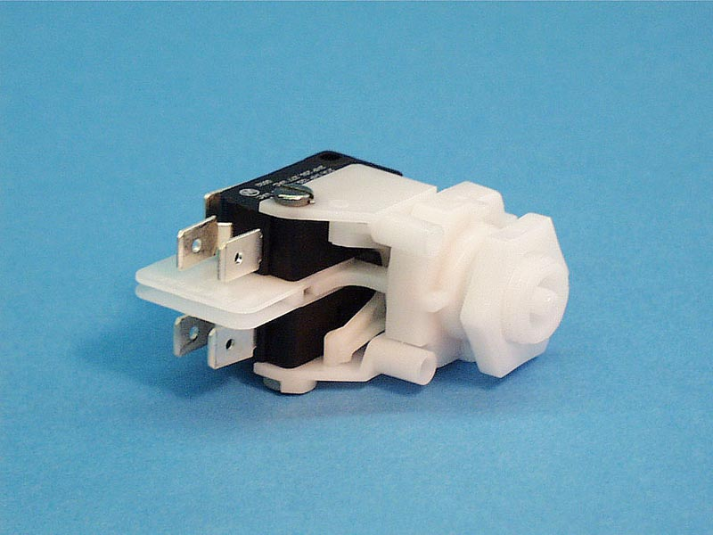 TVA211B - Air Switch,Latching,PRESAIR,TVA211B,DPDT,21Amp,Center Spout - TVA211B