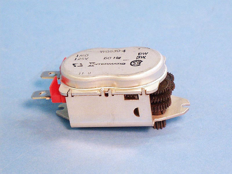 WG630-2 - Time Clock Motor,INTERMATIC,125V,40A,24hr,T-100 Ser No Leads - WG630-2
