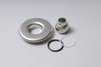 10-3955-SN - Jet Escutcheon Assy,ITT,Slimeline,Satin Nickle Finish - NLA - Possible Sub: 10-3955-CHR - 10-3955-SN