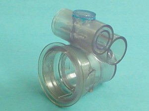 10-4010 - Jet Body,ITT,Stacked Magna,1/2 Inch S Air x 1 Inch S Water - 10-4010