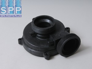 1210031 - Pump Volute,VICO,Ultima Dually Inch Reverse Inch SD,2 Inch MBT In/Out,Blk - 1210031