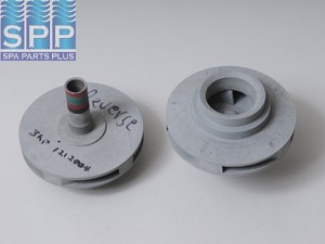 1212004 - Pump Impeller,VICO,Ultima Dually Inch Reverse Inch 1.5HP(Rd/Grn/Rd/Blk - 1212004