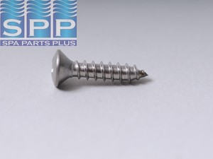 14-0607-27 - Screw,Jet,8X3/4 OVAL PH TS SS 18.8 2/BG - 14-0607-27