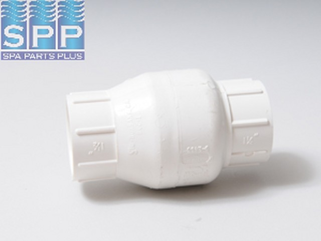 1520-15-WHT - Valve Assy,FLOCON(In Line Check)Swing,1.5 Inch S x 1.5 Inch S,White - 1520-15-WHT